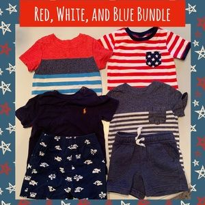 🇺🇸Reds, Whites, and Blues for your Patriotic Boy